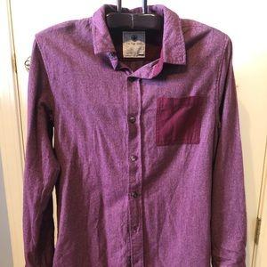 Men's long sleeved Flannel Shirt